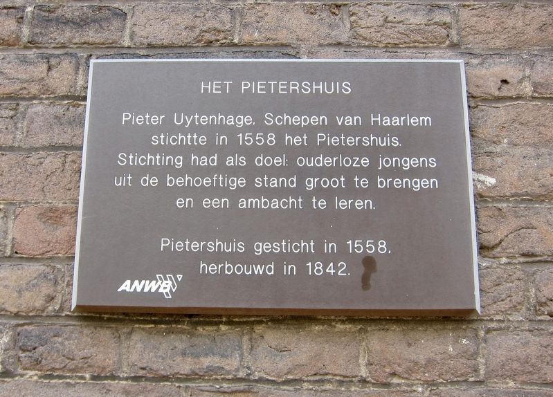 Pietershuis Marker image. Click for full size.