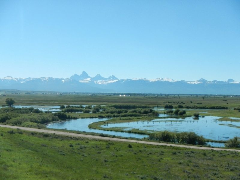 Teton Range from the West image. Click for full size.