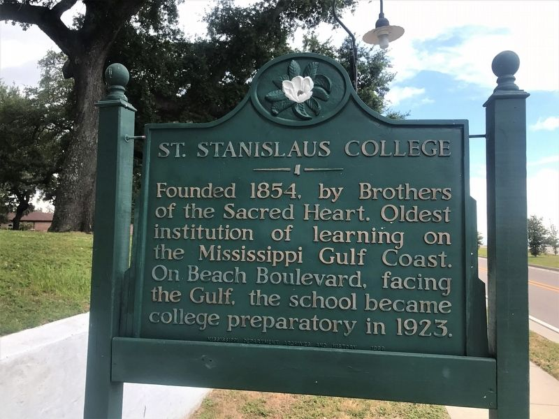 St. Stanislaus College Marker image. Click for full size.