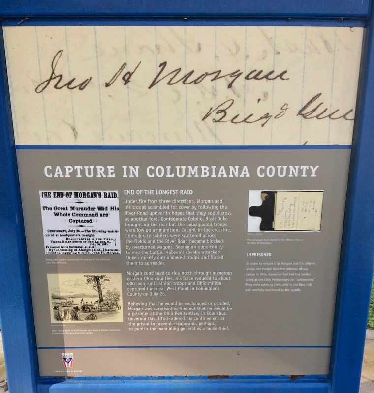 Capture in Columbiana County Marker image. Click for full size.