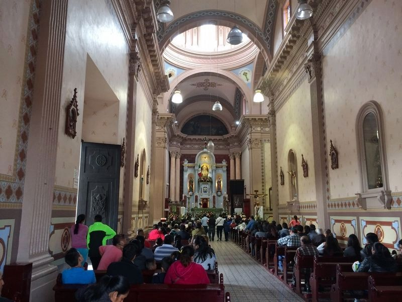 A view of the interior of the Sanctuary of Soriano image. Click for full size.