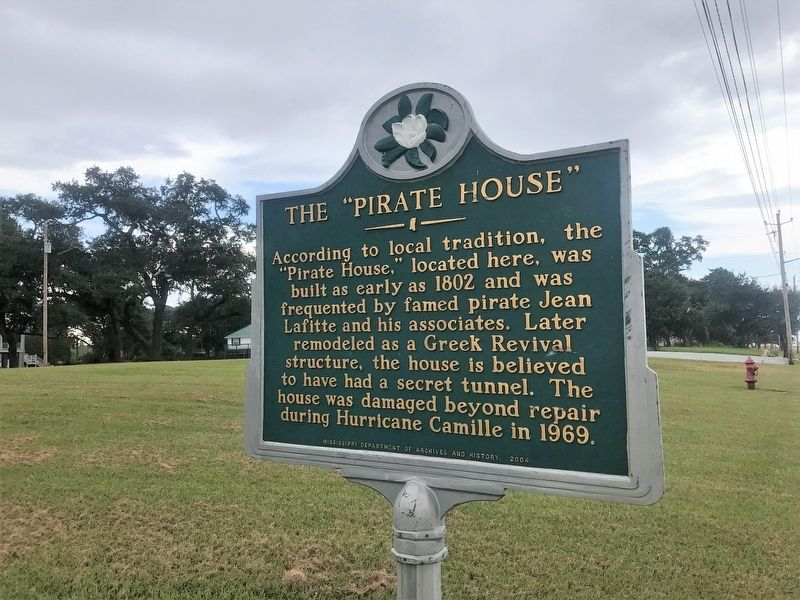 "The ""Pirate House"" Marker image. Click for full size."