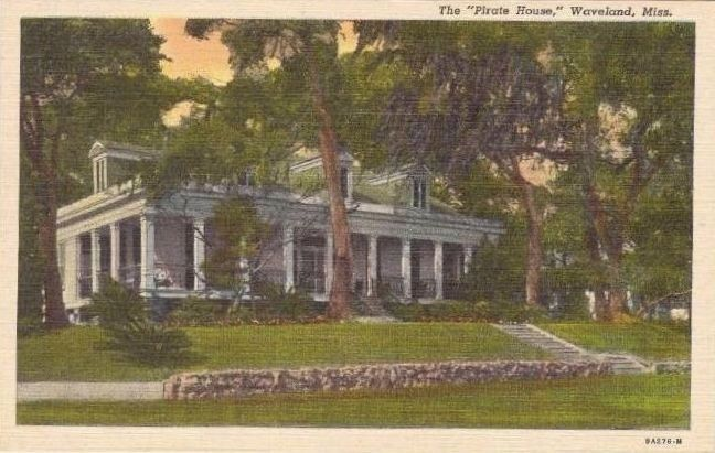 "<i>The ""Pirate House"", Waveland, Miss.</i> image. Click for full size."