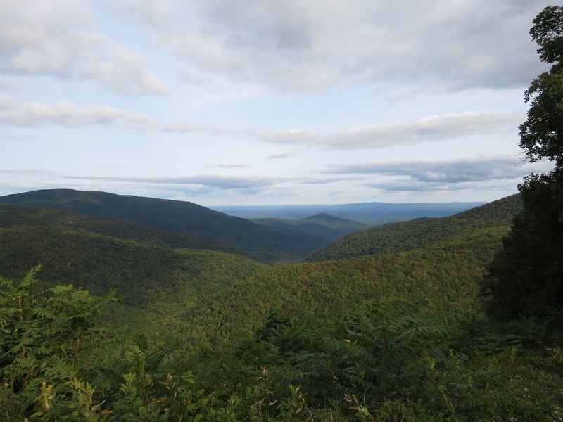 Ivy Creek Overlook View image. Click for full size.