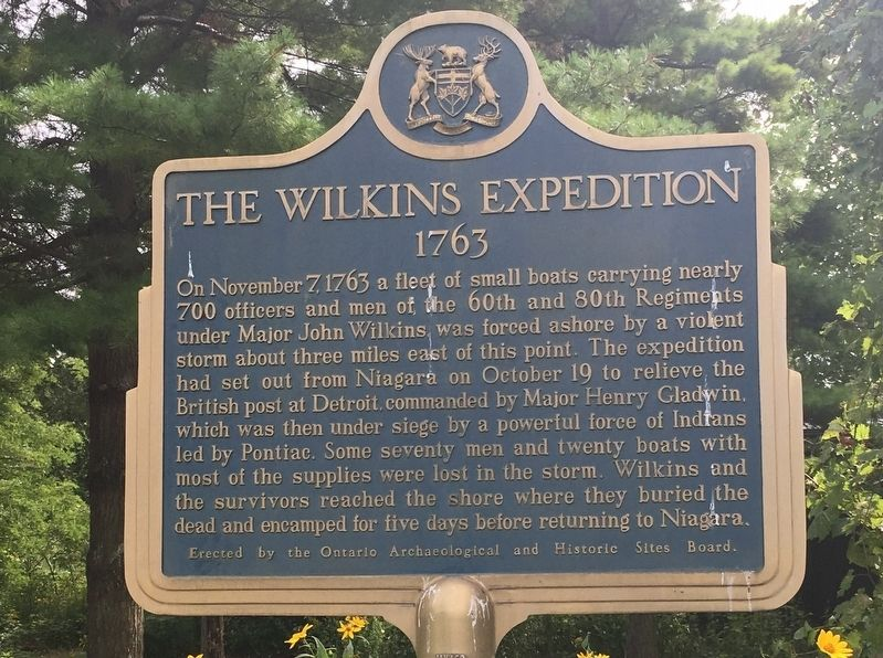 The Wilkins Expedition Marker image. Click for full size.