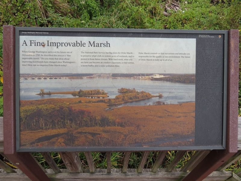 A Fine Improvable Marsh Marker image. Click for full size.