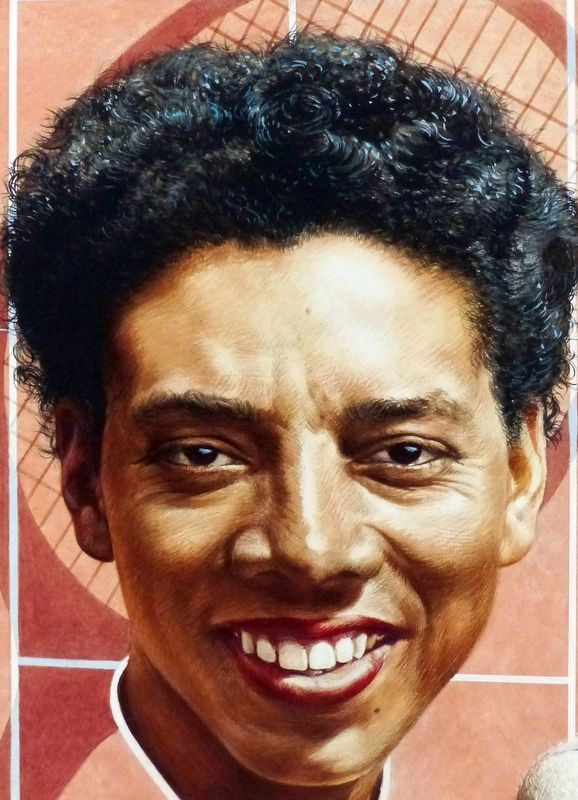Althea Gibson, 1927-2003 image. Click for full size.