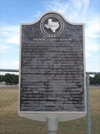 Wise County Reunion Marker image. Click for full size.