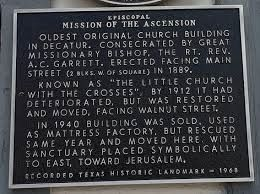 Episcopal Mission of the Ascension Marker image. Click for full size.