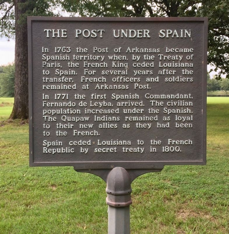 The Post under Spain Marker image. Click for full size.