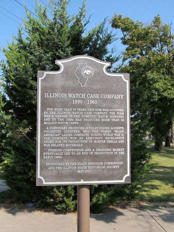 Illinois Watch Case Company Marker image. Click for full size.
