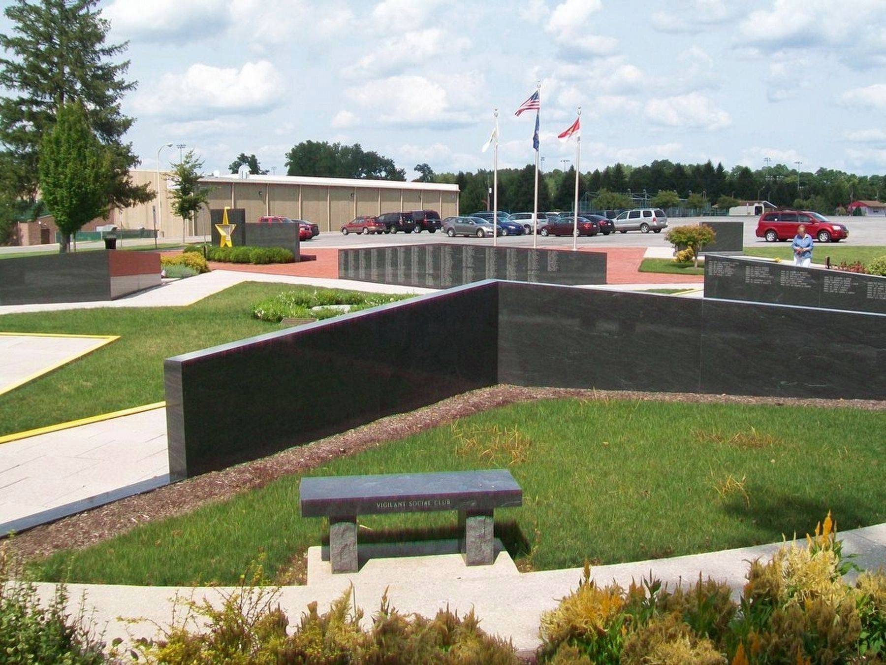 Veterans Memorial Gold Star Healing & Peace Garden image. Click for full size.