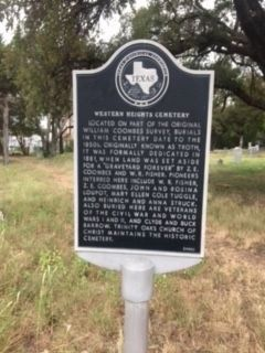 Western Heights Cemetery Marker image. Click for full size.