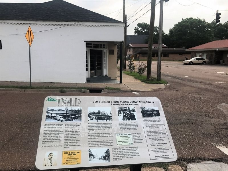 300 Block of Martin Luther King Street Marker image. Click for full size.