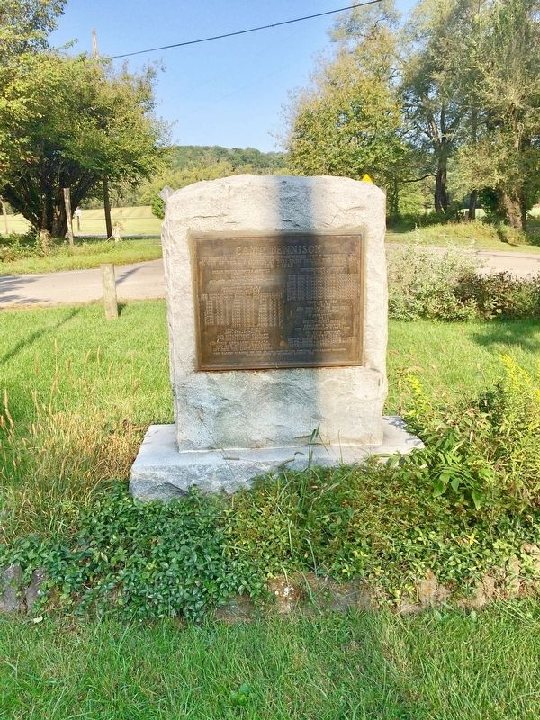 Camp Dennison Monument image. Click for full size.