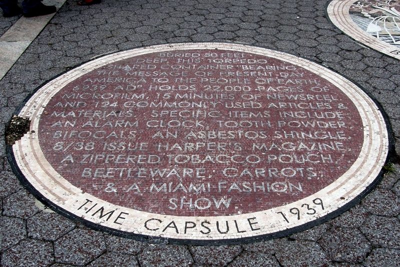 Time Capsules Marker image. Click for full size.