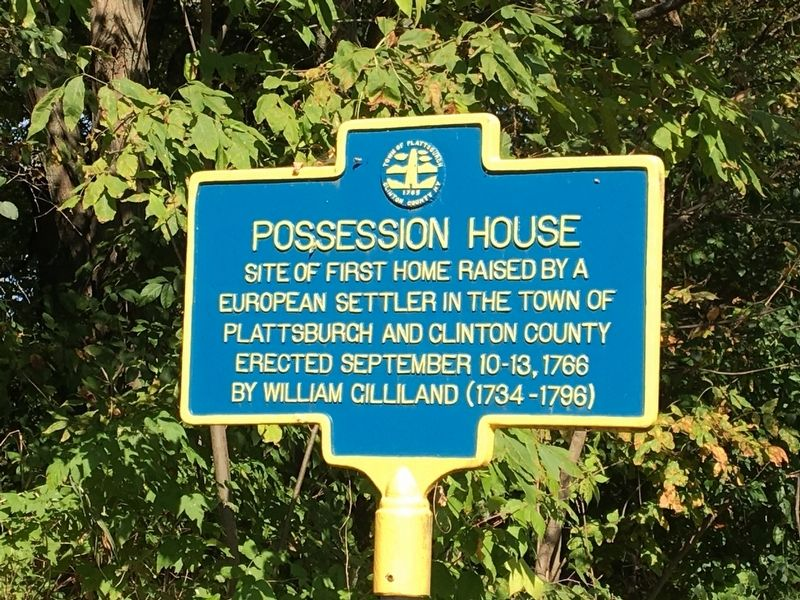 Possession House Marker image. Click for full size.