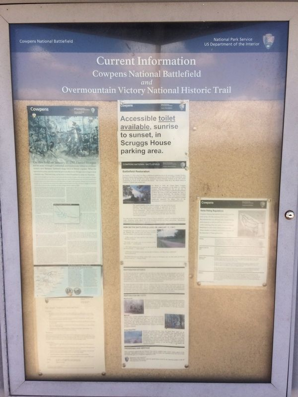 Current Information (Bulletin Board as Part of Marker Kiosk) image. Click for full size.