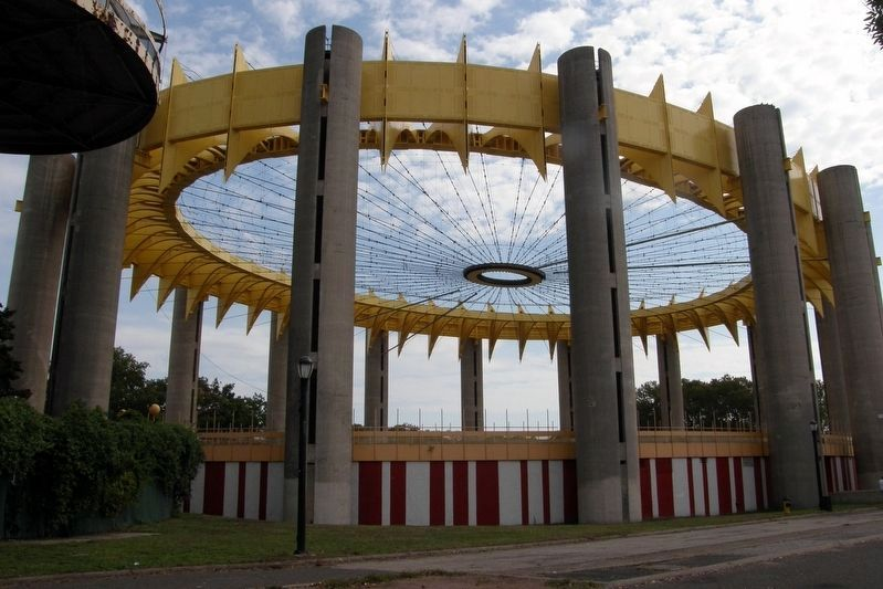 New York State Pavilion image. Click for full size.