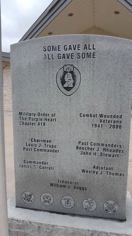 Combat Wounded Monument image. Click for full size.