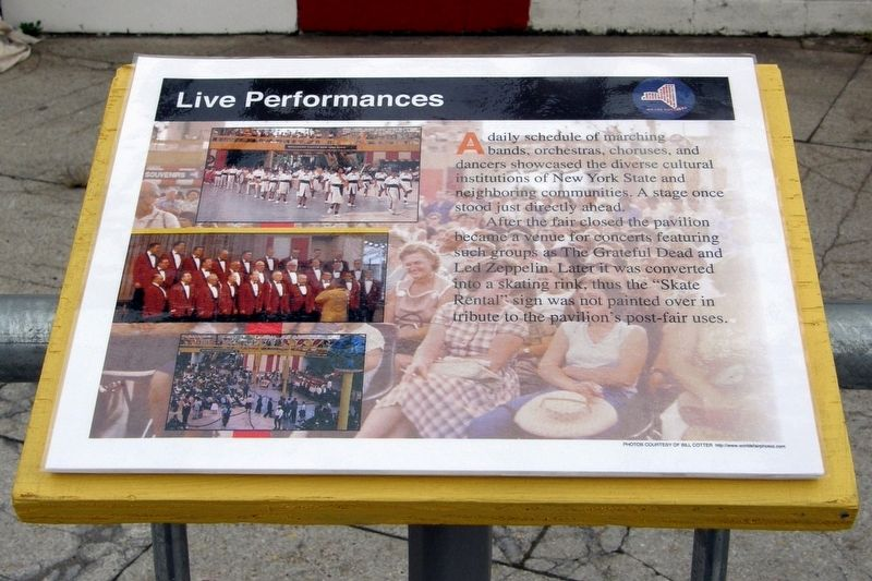 Live Performances Marker image. Click for full size.