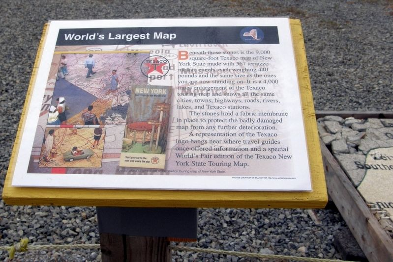 World's Largest Map Marker image. Click for full size.