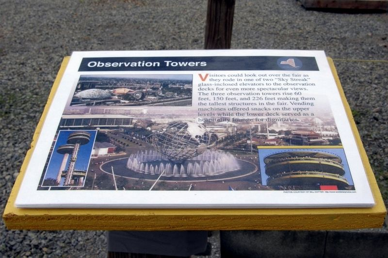 Observation Towers Marker image. Click for full size.