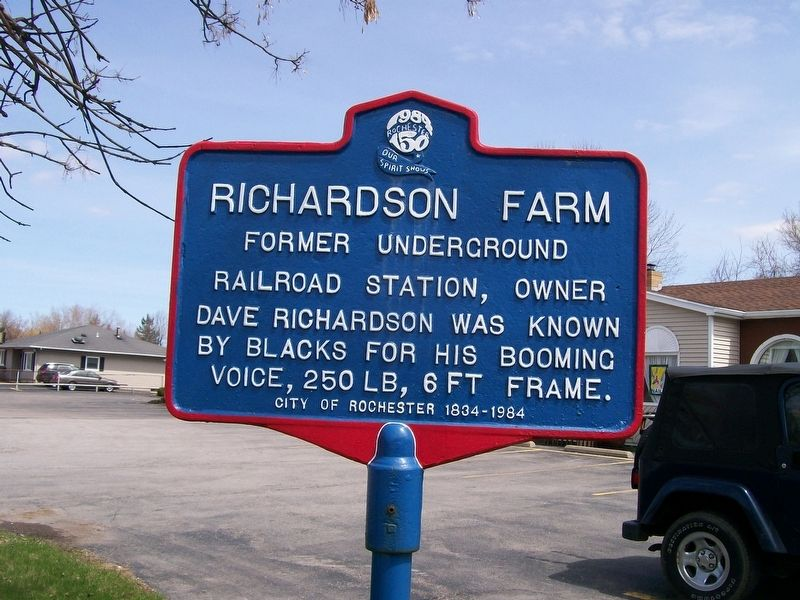 Richardson Farm Marker image. Click for full size.