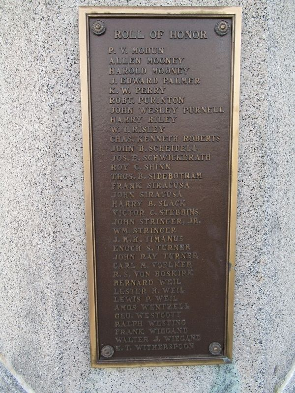 Ventnor City World War I Monument image. Click for full size.