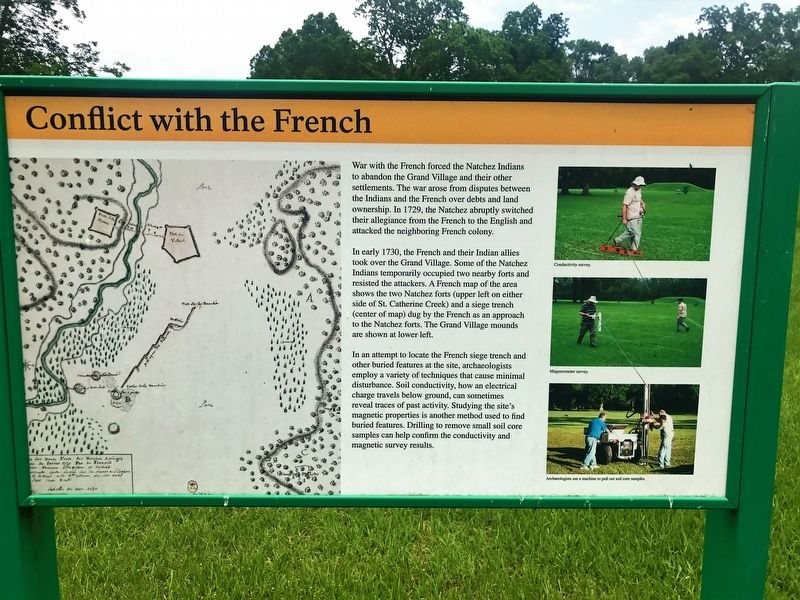 Conflict with the French Marker image. Click for full size.
