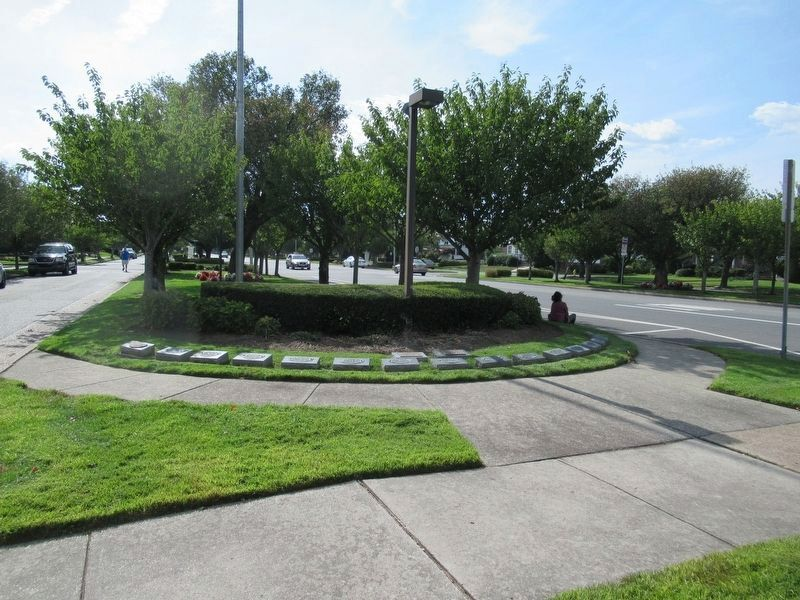 Margate City Post 397 Veterans Memorial image. Click for full size.