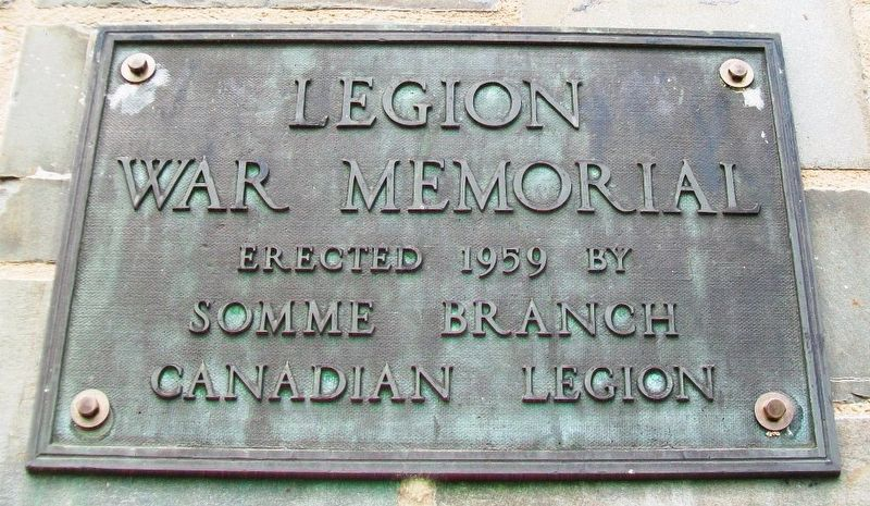 Legion War Memorial Marker image. Click for full size.