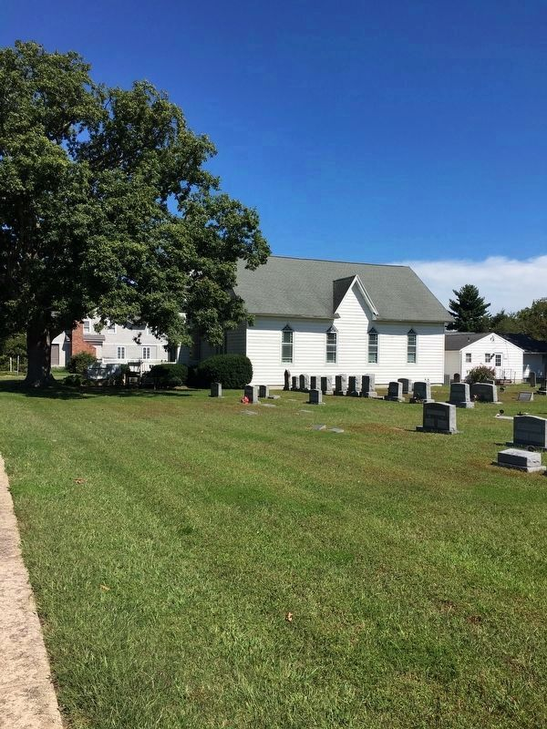 Ocean View Presbyterian Church And Graveyard image. Click for full size.
