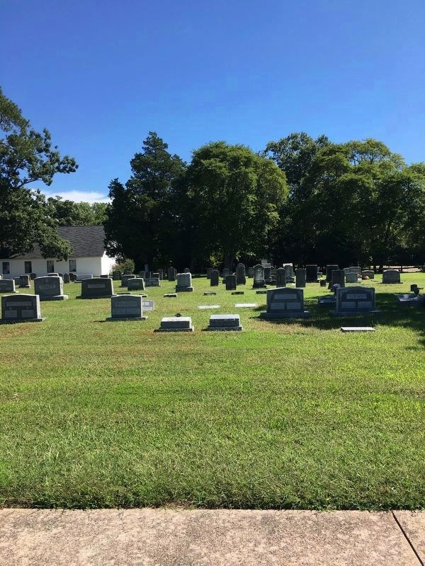 Ocean View Presbyterian Church Graveyard image. Click for full size.
