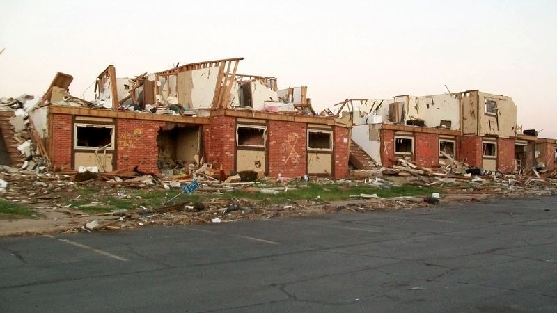 Apartment Complex Ruins in the Tornado Zone image. Click for full size.