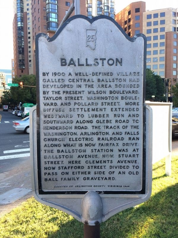 Ballston Marker image. Click for full size.