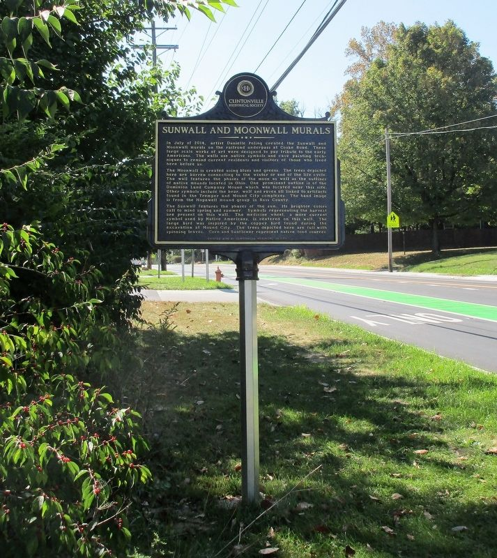 Dominion Land Company Mound Marker image. Click for full size.