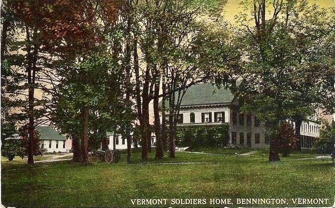 <i>Vermont Soldiers Home, Bennington, Vermont</i> image. Click for full size.