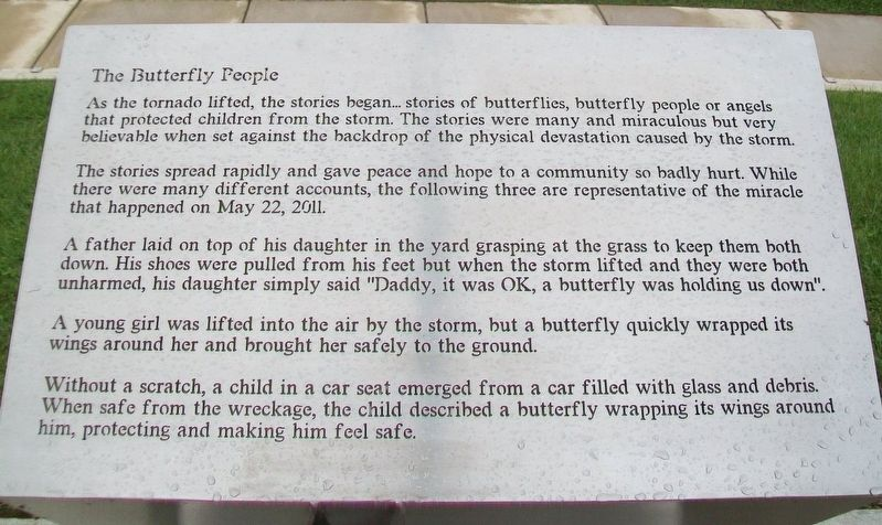 The Butterfly People Marker image. Click for full size.