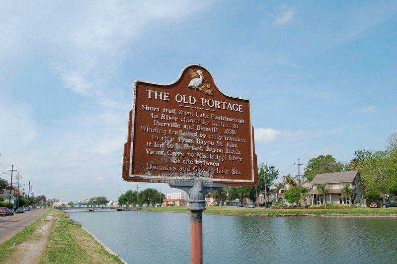 The Old Portage Marker image. Click for full size.