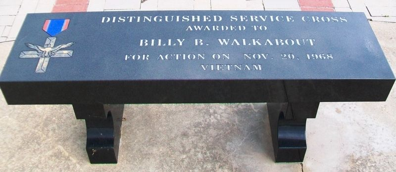 Billy B. Walkabout Memorial Bench image. Click for full size.