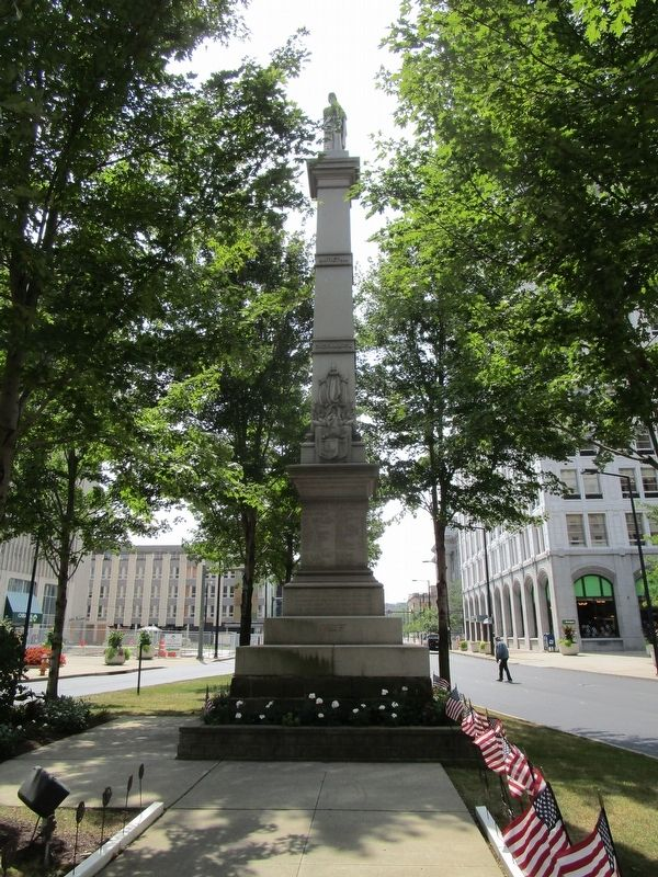 Youngstown, OH Civil War Monument image. Click for full size.