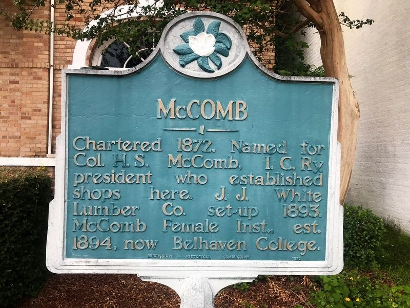 McComb Marker image. Click for full size.