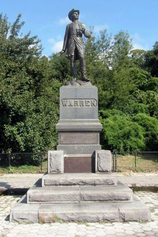 Major General Gouvernor Kemble Warren Statue image. Click for full size.