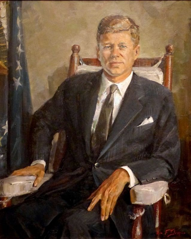 John Fitzgerald Kennedy image. Click for full size.
