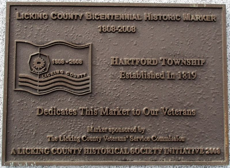 Licking County Bicentennial Historical Marker Marker image. Click for full size.