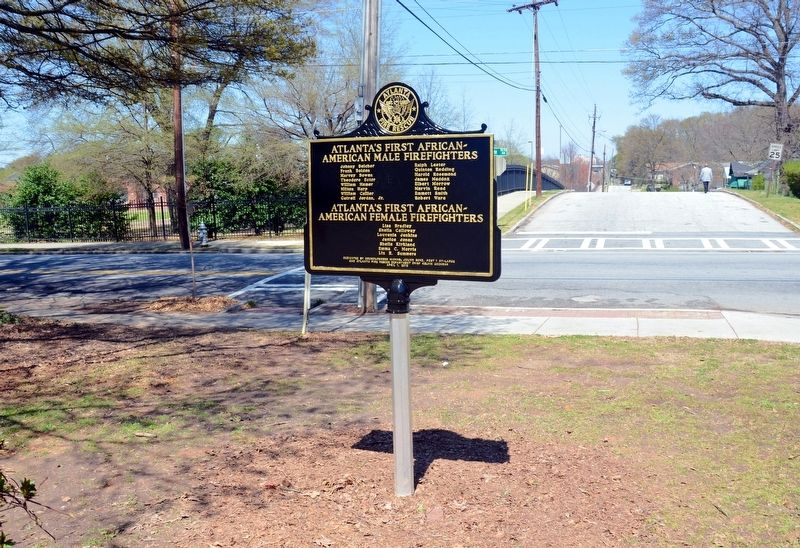 Fire Station No. 16 Marker (Side 2) image. Click for full size.