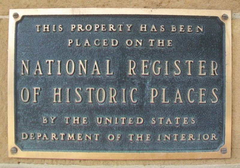Union Agency NRHP Marker image. Click for full size.