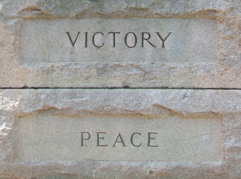 World War Memorial Detail image. Click for full size.