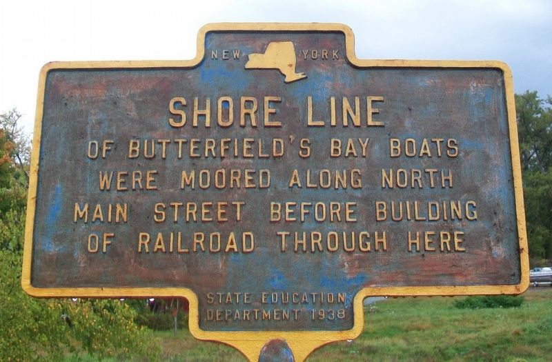 Shore Line Marker image. Click for full size.